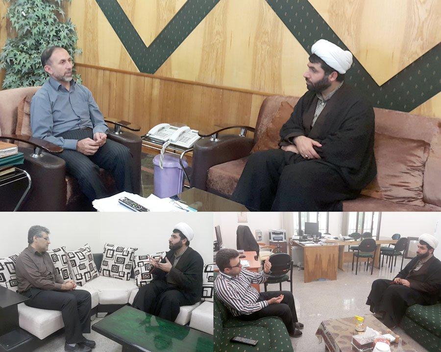 دیدار مدیر عامل ستاد دیه خوزستان با مدیر کل و مسئولین سیمای استان