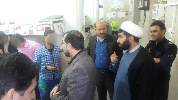 دیدار مدیر عامل ستاد دیه با مددجویان غیر عمد مسجدسلیمان و شوشتر