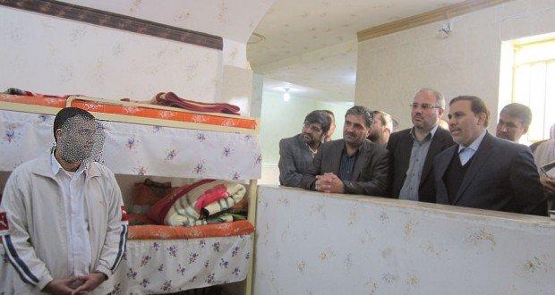 بازدید ۴ ساعته رئیس سازمان زندانهای کشور از زندان سپیدار اهواز