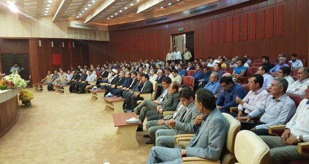 کمک هفت میلیارد ریالی خیرین فعال حوزه ملی حفاری ایران به ستاد دیه خوزستان