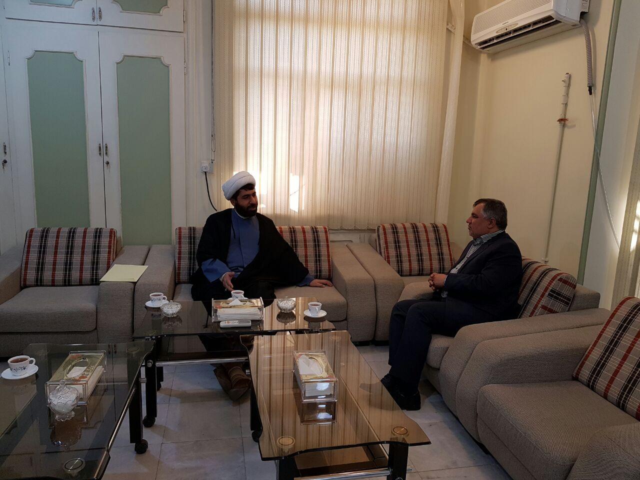 دیدار مدیر عامل ستاد دیه با مدیرکل کمیته امداد امام (ره)