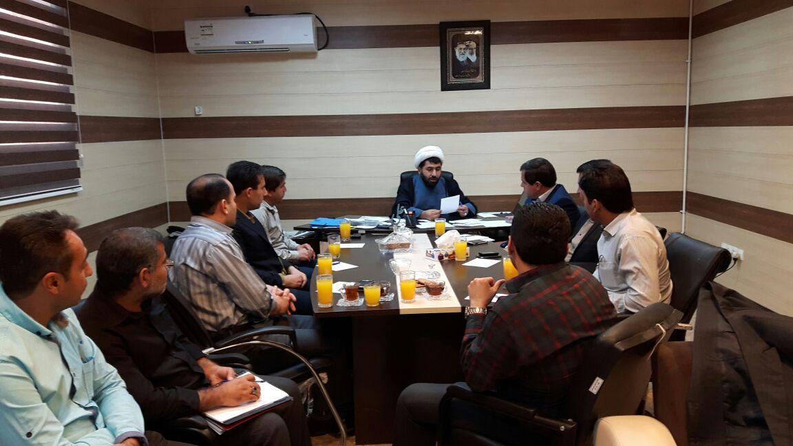 نشست مدیرعامل ستاد دیه با مددکاران زندانهای استان