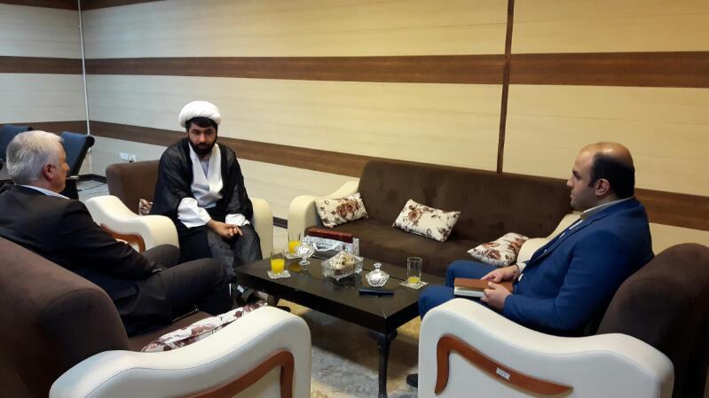 دیدار مدیریت بانک ملی با مدیر نمایندگی ستاد دیه استان