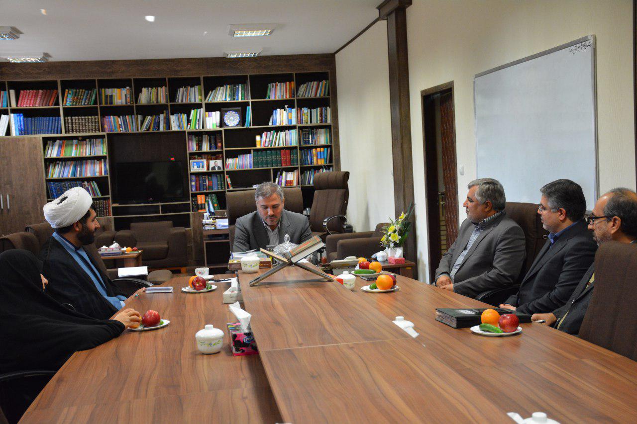 جلسه هیئت امناء ستاد دیه استان خوزستان برگزار گردید.