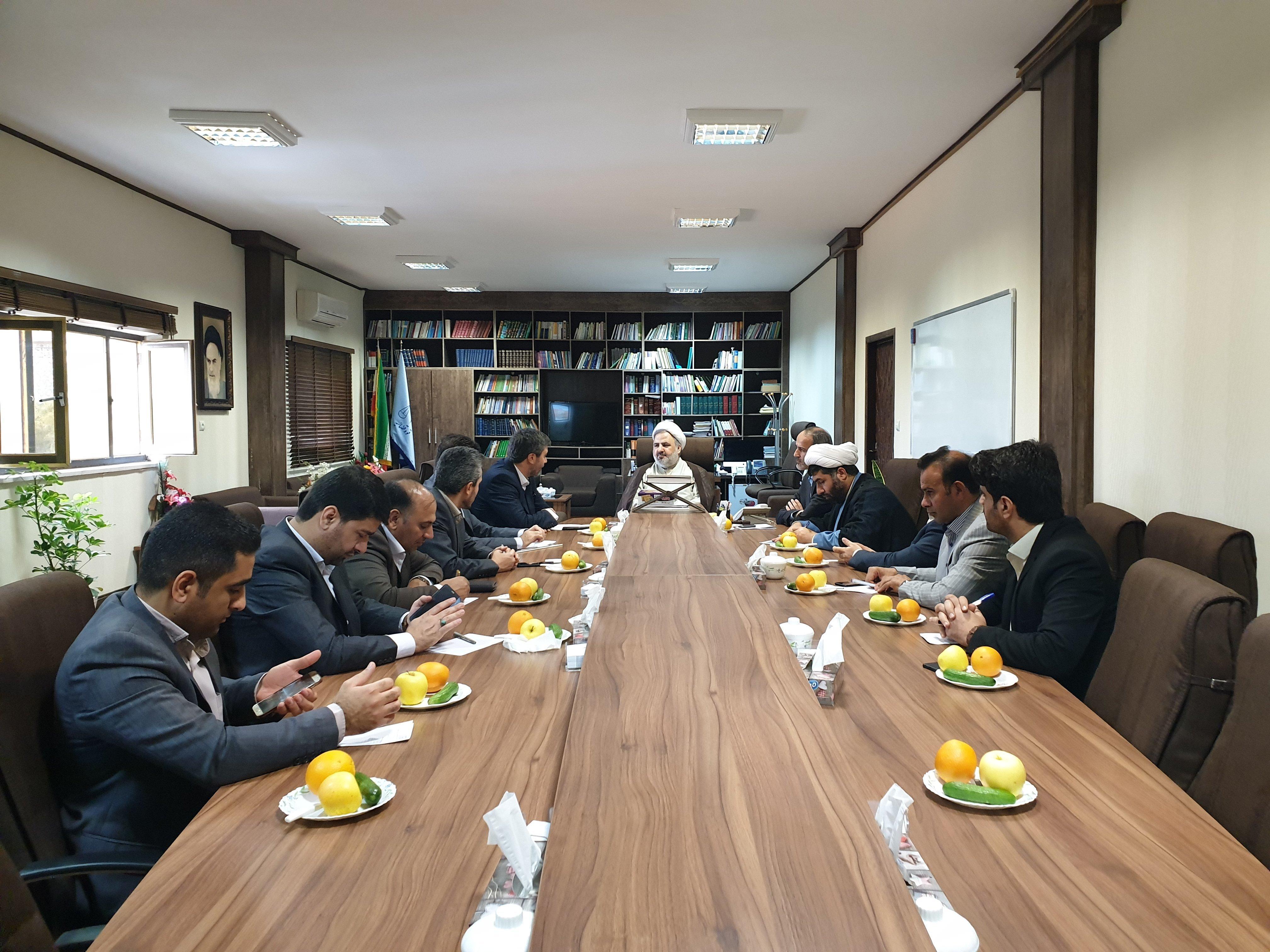 دیدار رئیس صندوق تامین خسارتهای بدنی کشور با رئیس دادگستری خوزستان